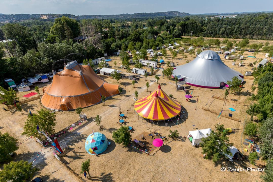 The Circus Village from the skies - Avignon 2018 | NoFit State Circus